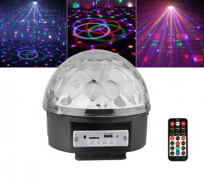 Altavoz con luces de colores tipo discoteca