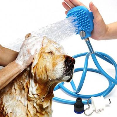 Manguera ducha para mascotas
