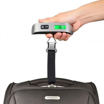 Báscula de mano para pesar maletas