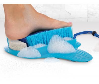Limpiador de pies con piedra pómez