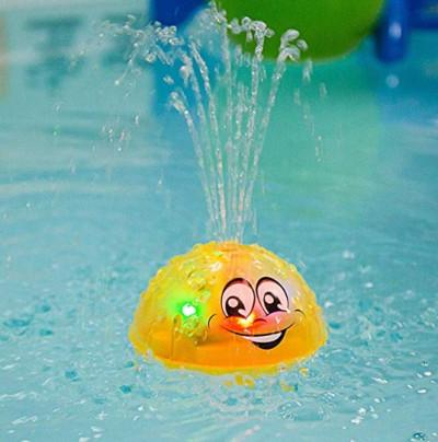Mascota para bañera con luz y fuente