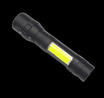 Linterna LED recargable con zoom ampliable