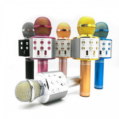 Micrófono karaoke con altavoz Bluetooth