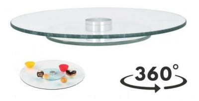 Plato giratorio para alimentos